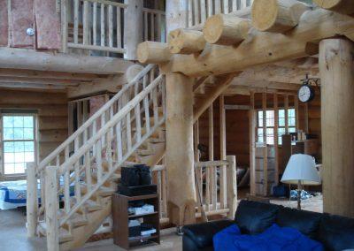 round log interior