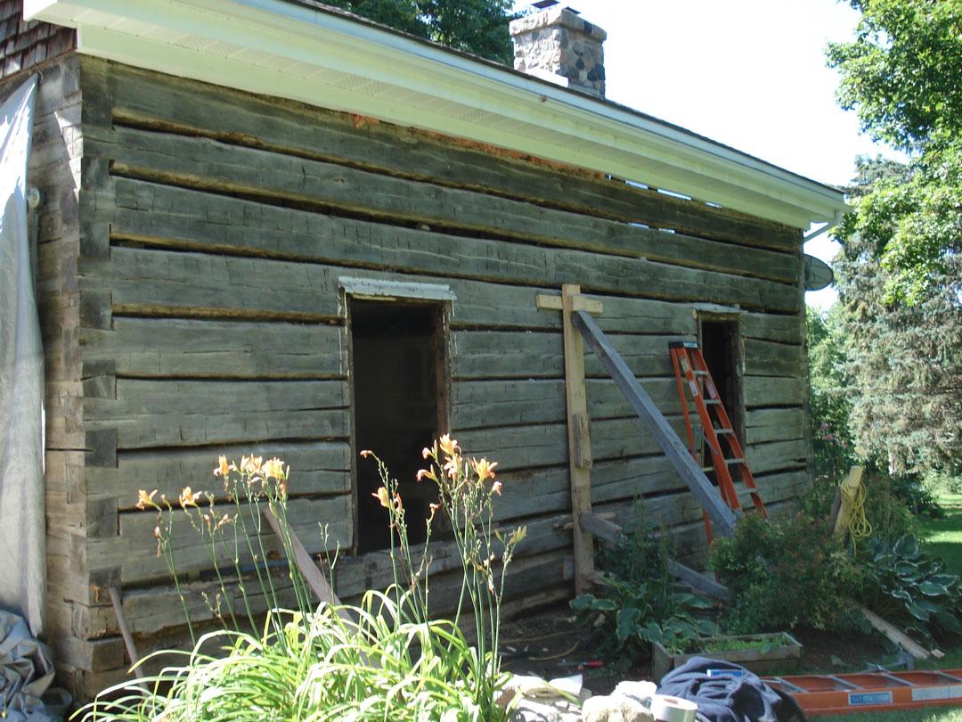 Log-restore
