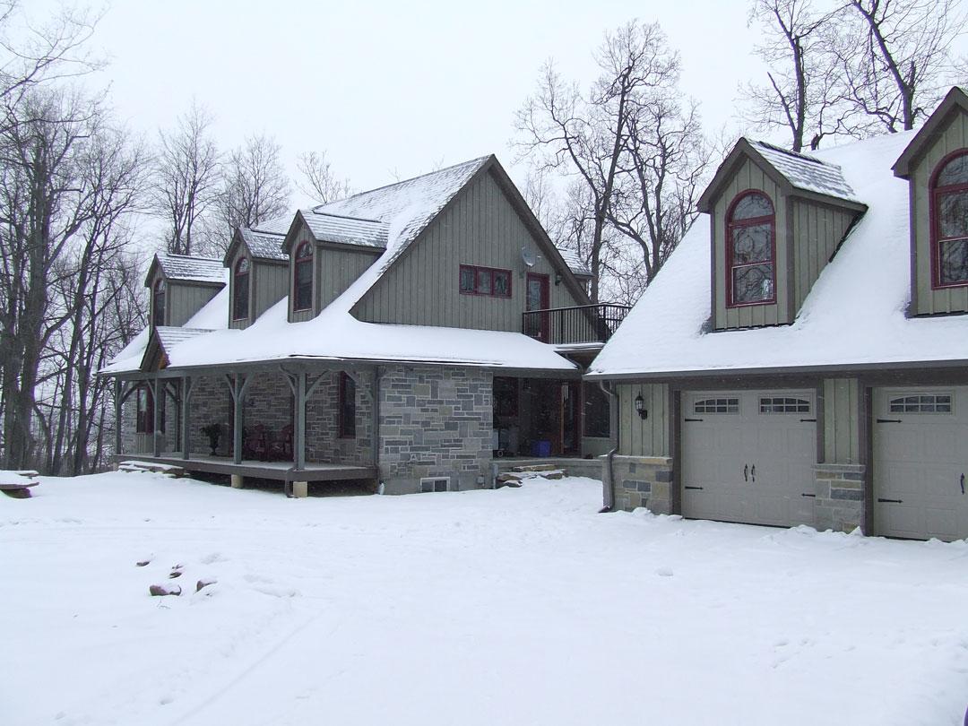 Timber-snow